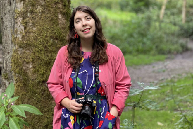 Jodie Thankray, the sustainable stylist and photographer.